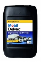 Mobil Delvac Light Commercial Vehicle 10W-40 (20 л.)